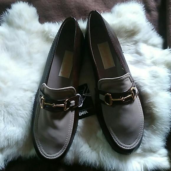 30d2a390b42 Vintage Men s Brown Horsebit Loafers Penny Shoes